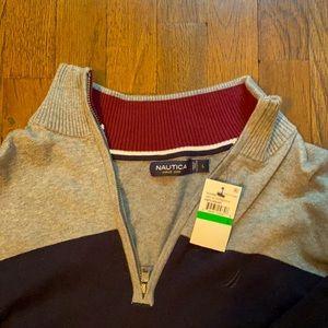 💙Nautica: Men's Zip-Up Sweater